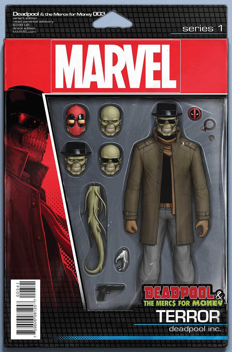 Deadpool And The Mercs For Money #3 Cover C Variant John Tyler Christopher Action Figure Cover
