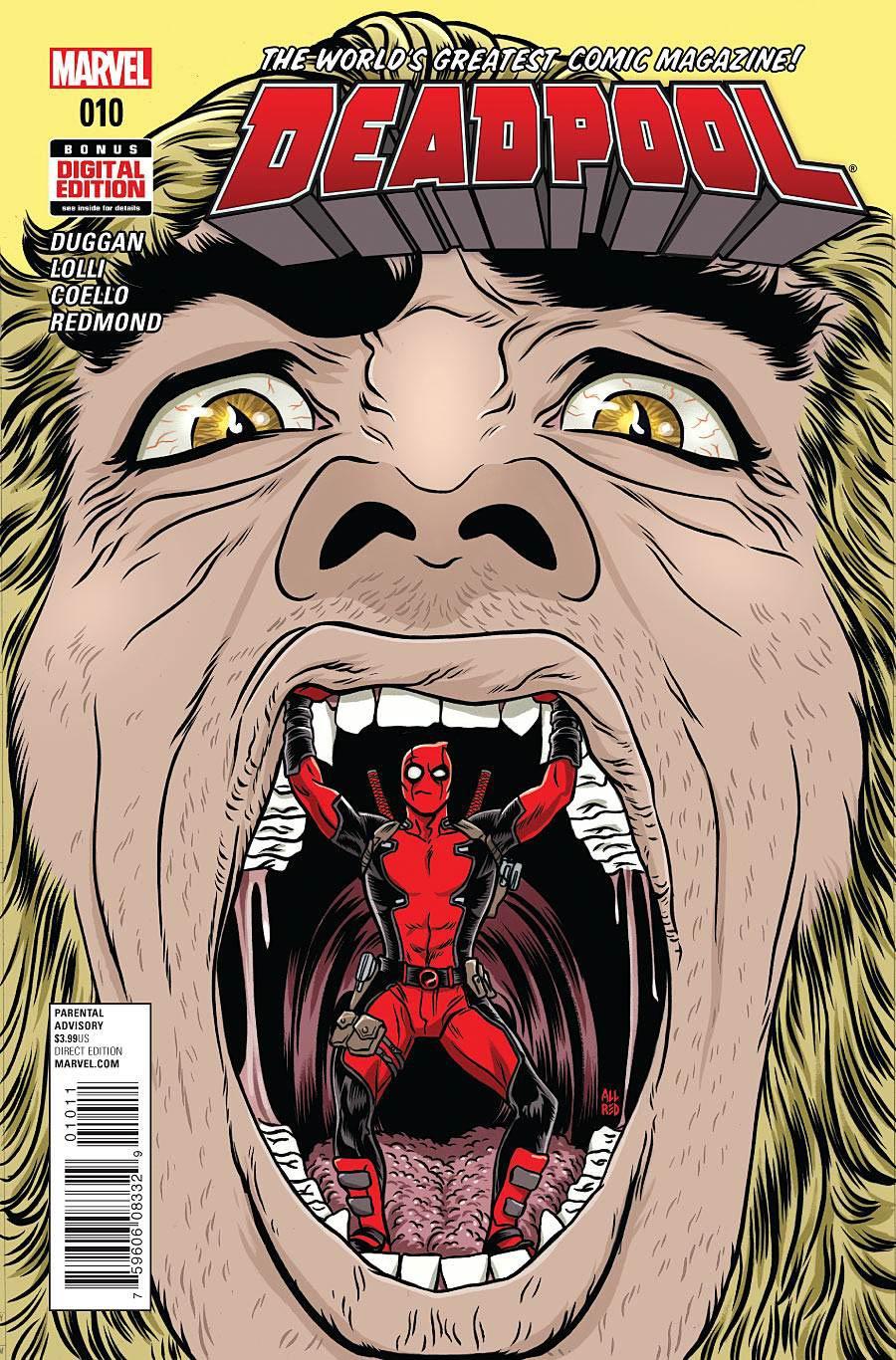 Deadpool Vol 5 #10 Cover A Regular Mike Allred Cover