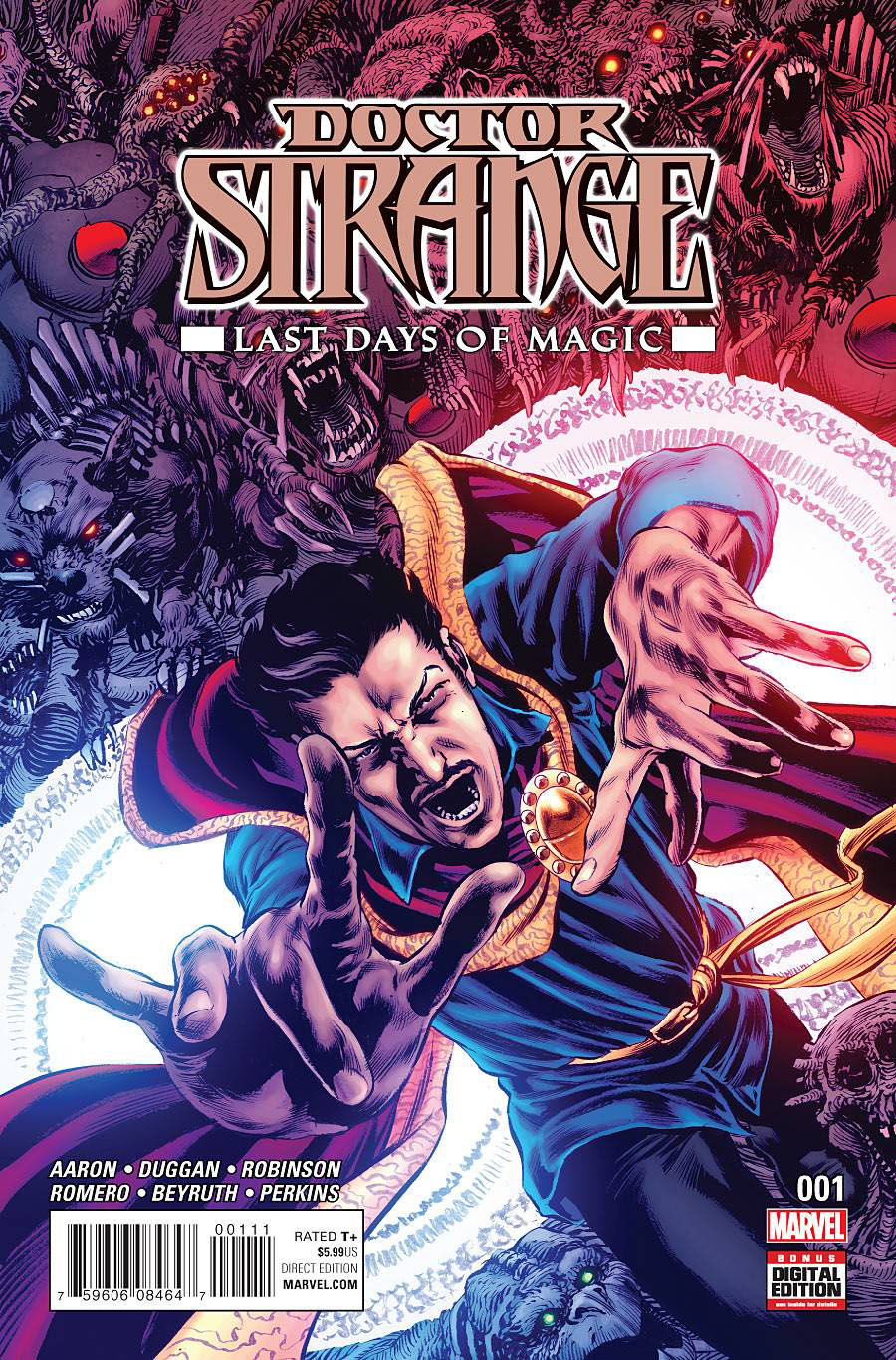 Doctor Strange Last Days Of Magic #1 Cover A Regular Mike Perkins Cover