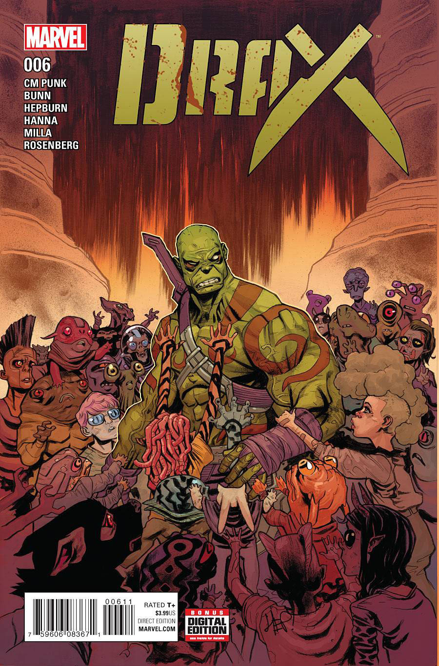 Drax #6 Cover A Regular Scott Hepburn Cover