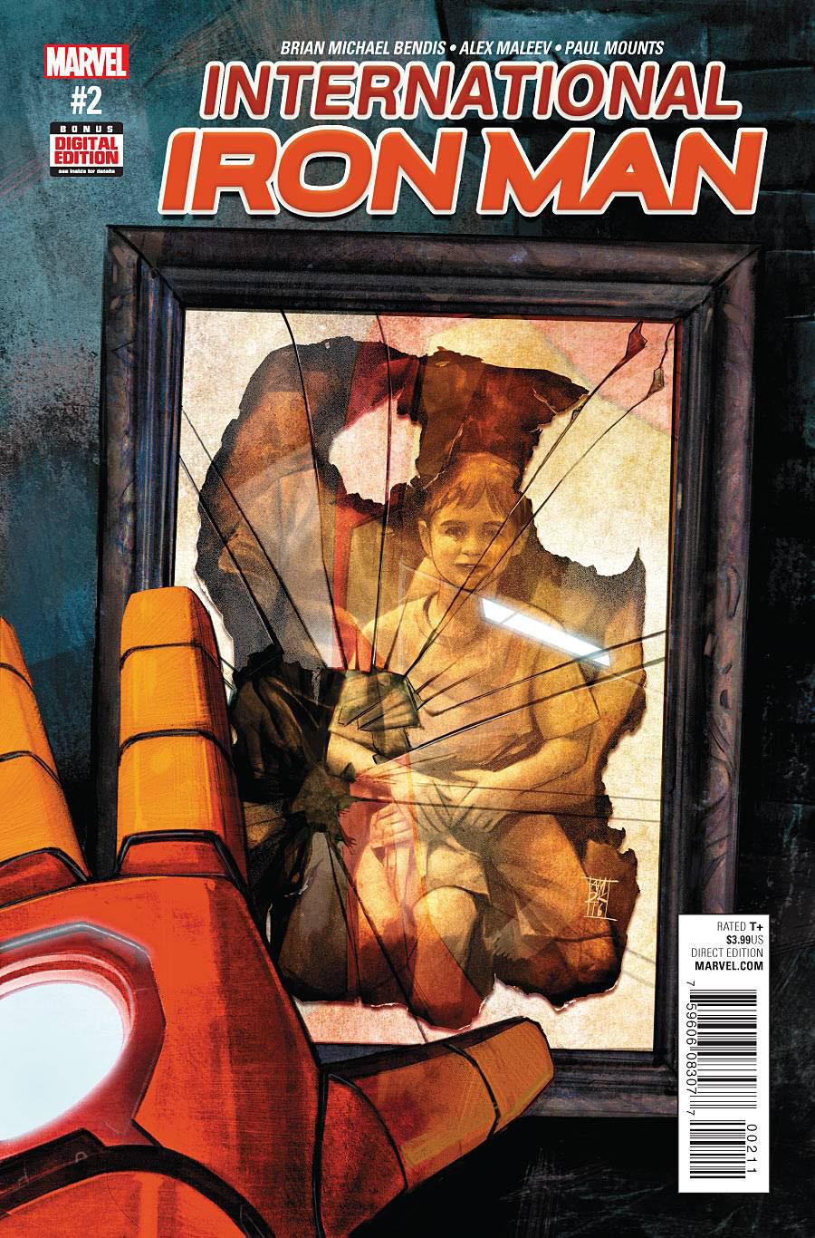 International Iron Man #2 Cover A Regular Alex Maleev Cover