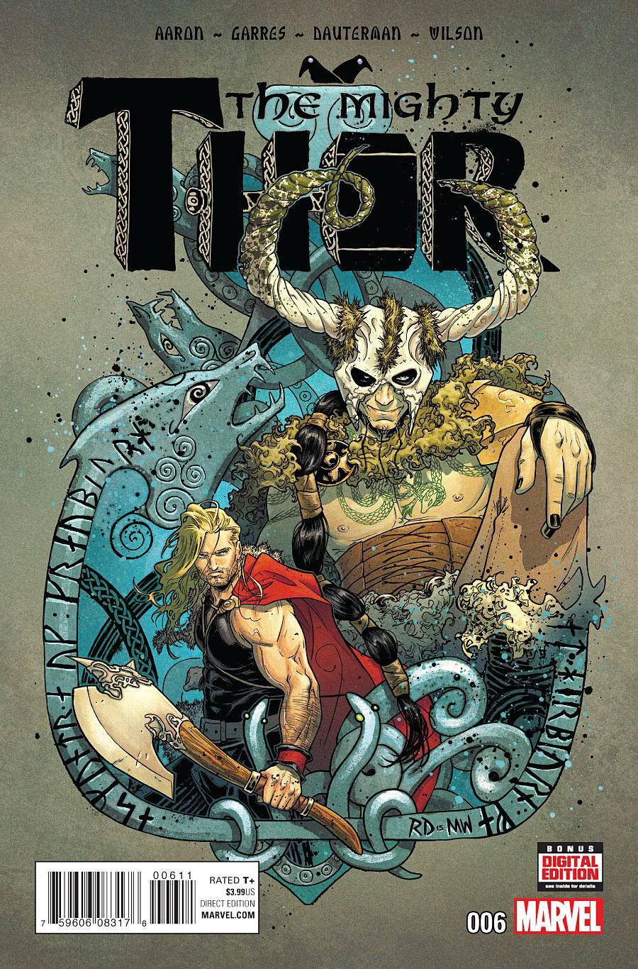 Mighty Thor Vol 2 #6 Cover A Regular Russell Dauterman Cover