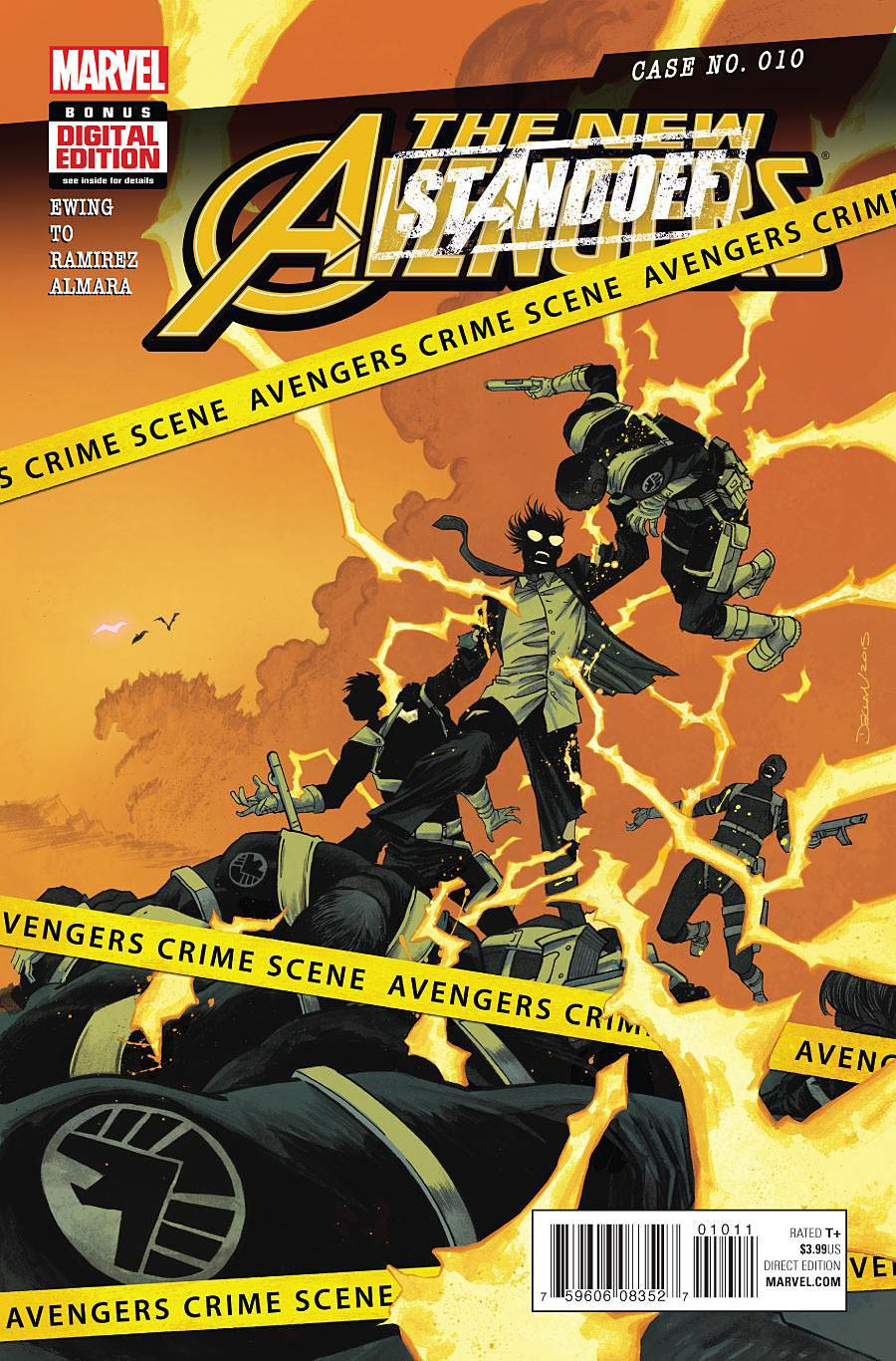 New Avengers Vol 4 #10 (Standoff Tie-In)