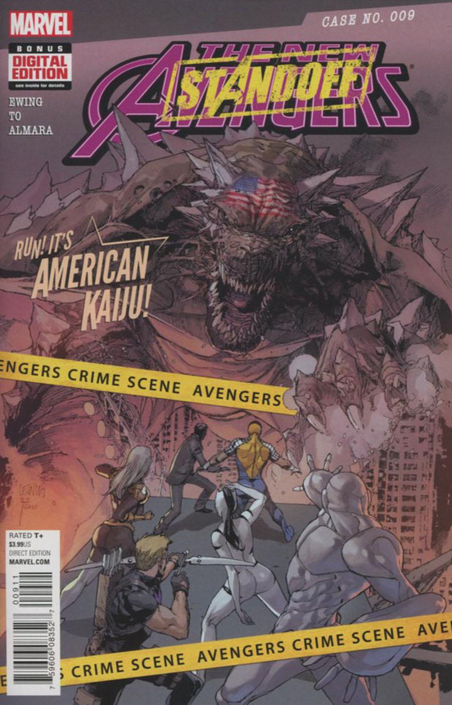 New Avengers Vol 4 #9 (Standoff Tie-In)