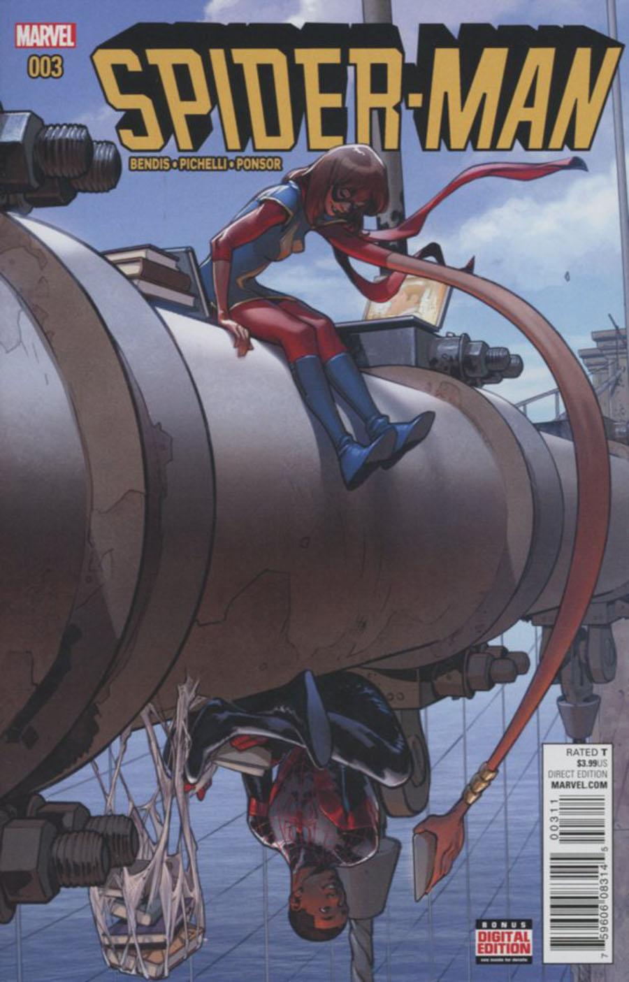 Spider-Man Vol 2 #3 Cover A Regular Sara Pichelli Cover