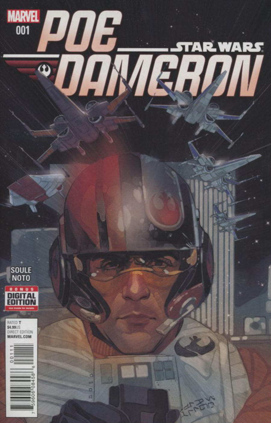 Star Wars Poe Dameron #1 Cover A 1st Ptg Regular Phil Noto Cover