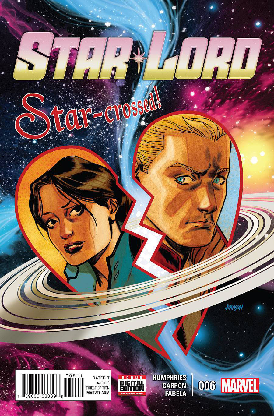 Star-Lord Vol 2 #6 Cover A Regular Dave Johnson Cover