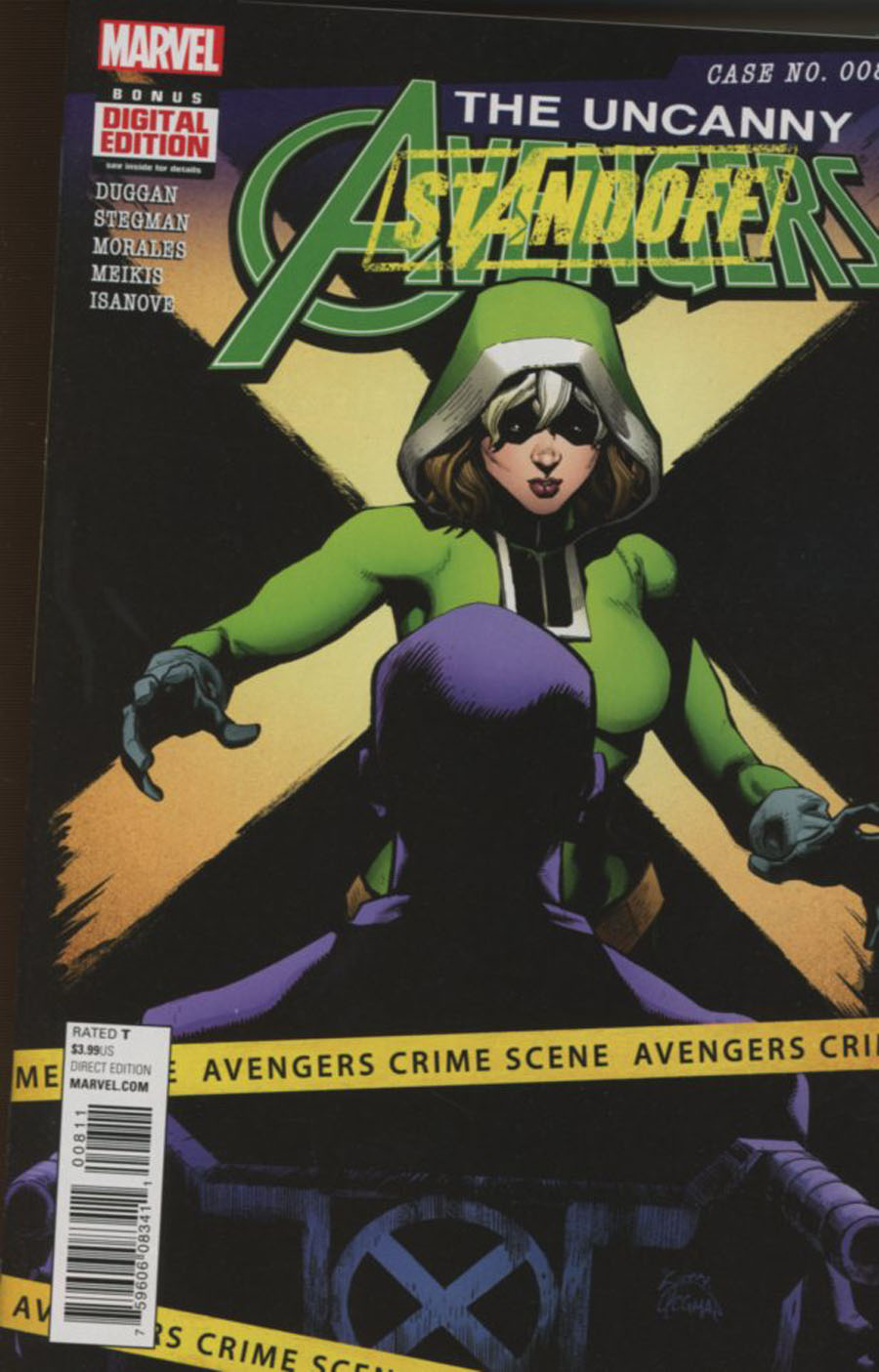 Uncanny Avengers Vol 3 #8 Cover A Regular Ryan Stegman Cover (Standoff Tie-In)