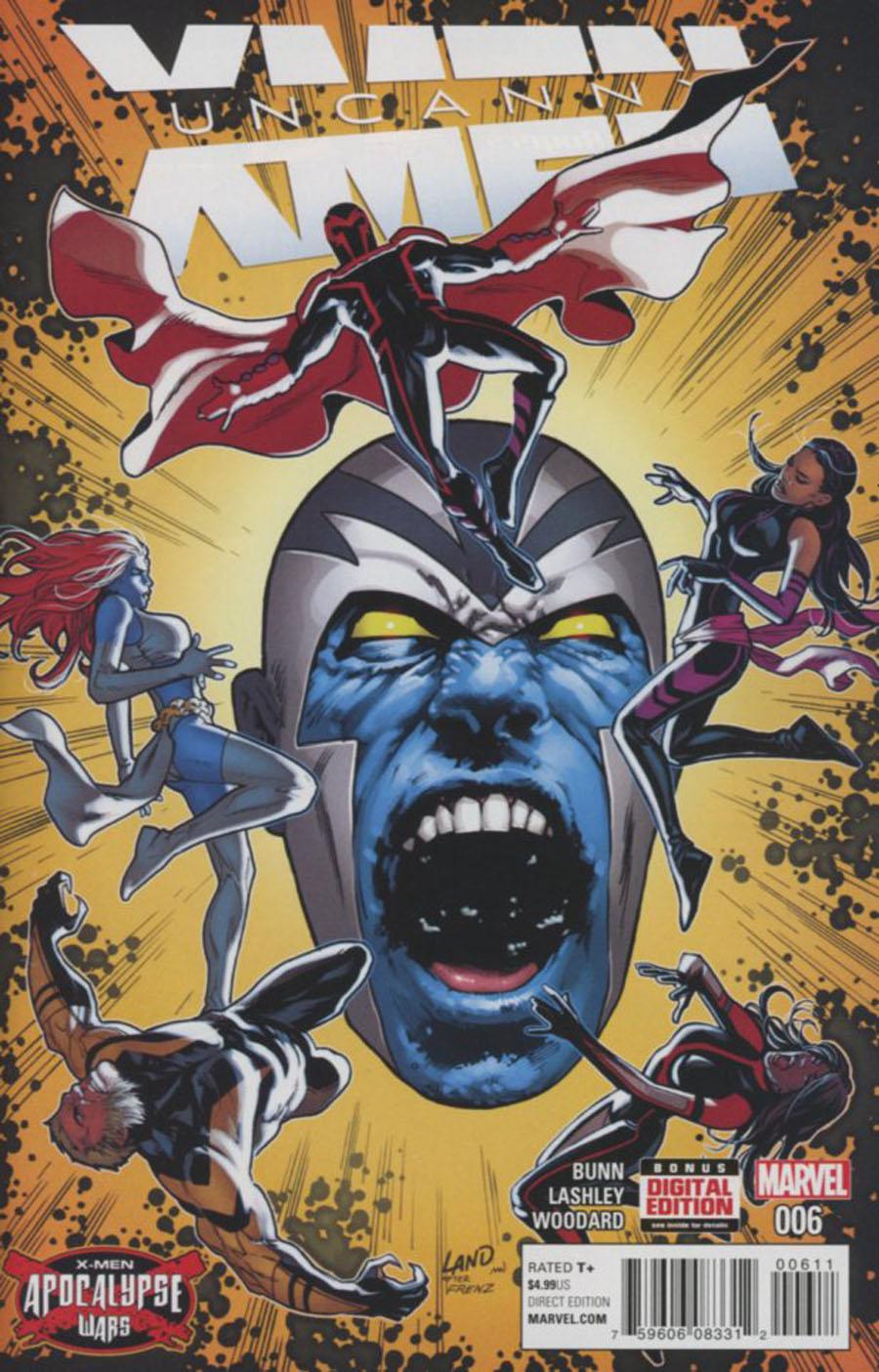 Uncanny X-Men Vol 4 #6 Cover A Regular Greg Land Cover (X-Men Apocalypse Wars Tie-In)