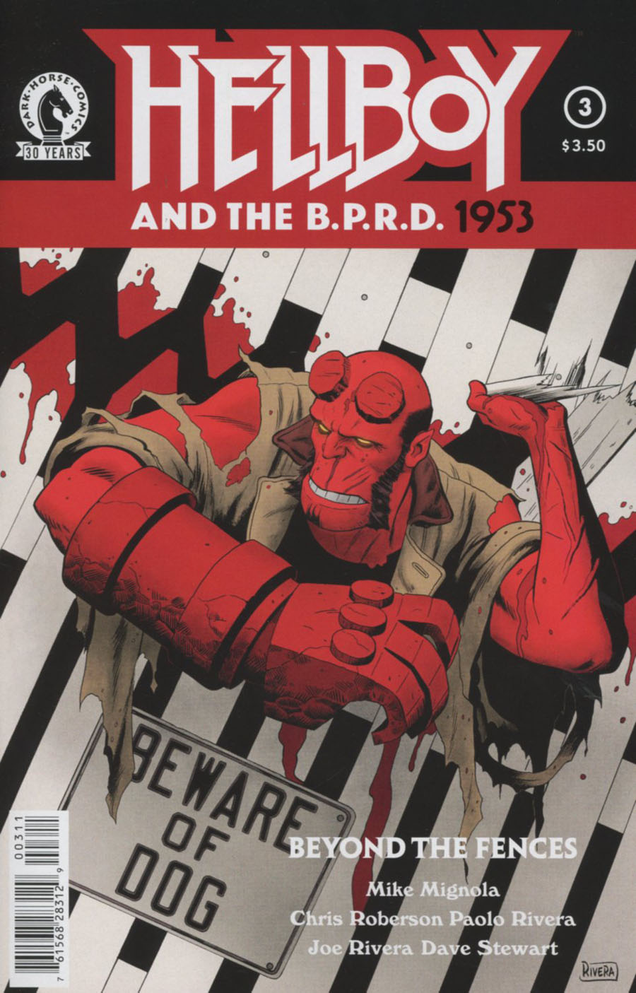 Hellboy And The BPRD 1953 Beyond The Fences #3