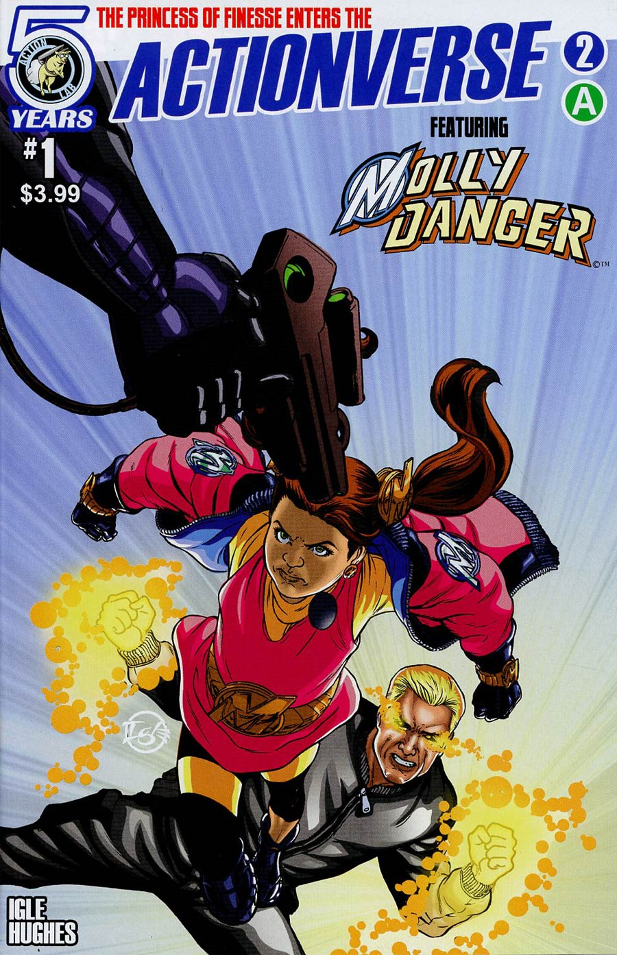 Actionverse #2 Featuring Molly Danger Cover A Regular Jamal Igle Cover