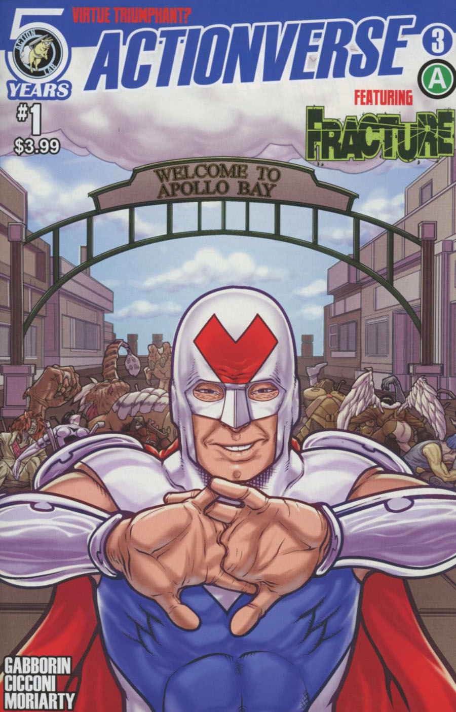 Actionverse #3 Featuring Fracture Cover A Regular Chad Cicconi Cover