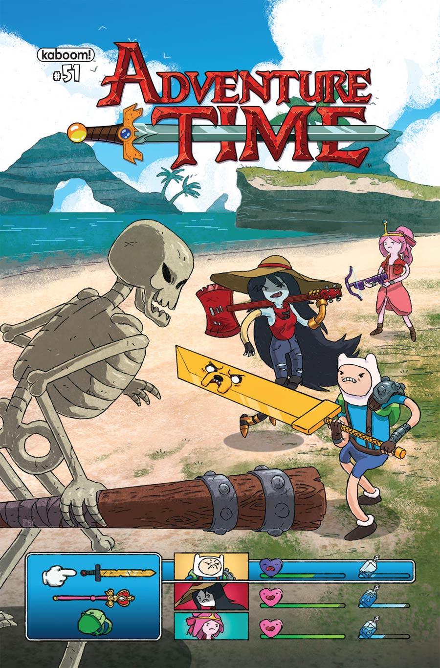 Adventure Time #51 Cover A Regular Paul Reinwand Cover