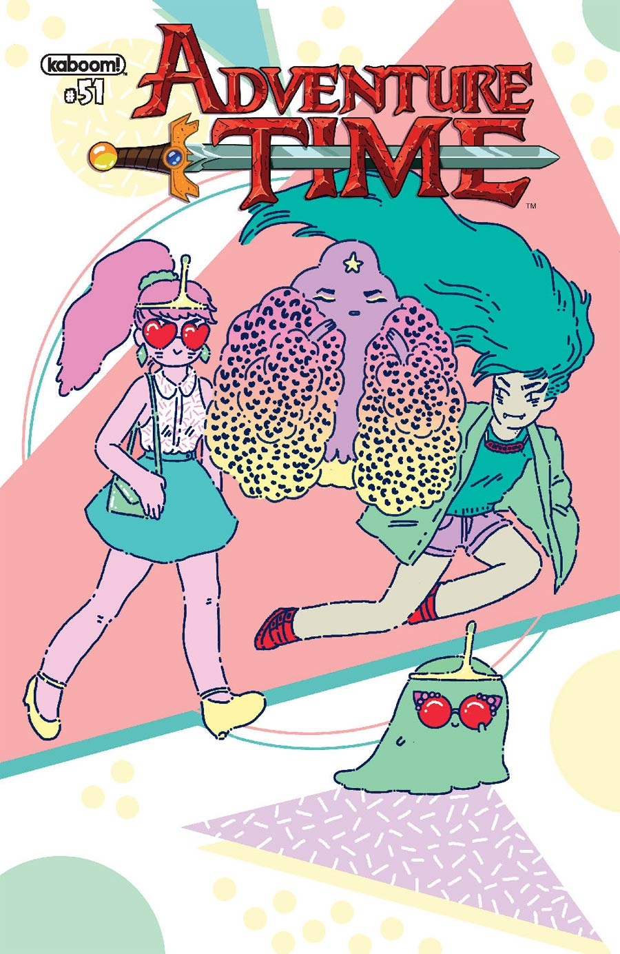 Adventure Time #51 Cover B Variant Mia Schwartz Subscription Cover