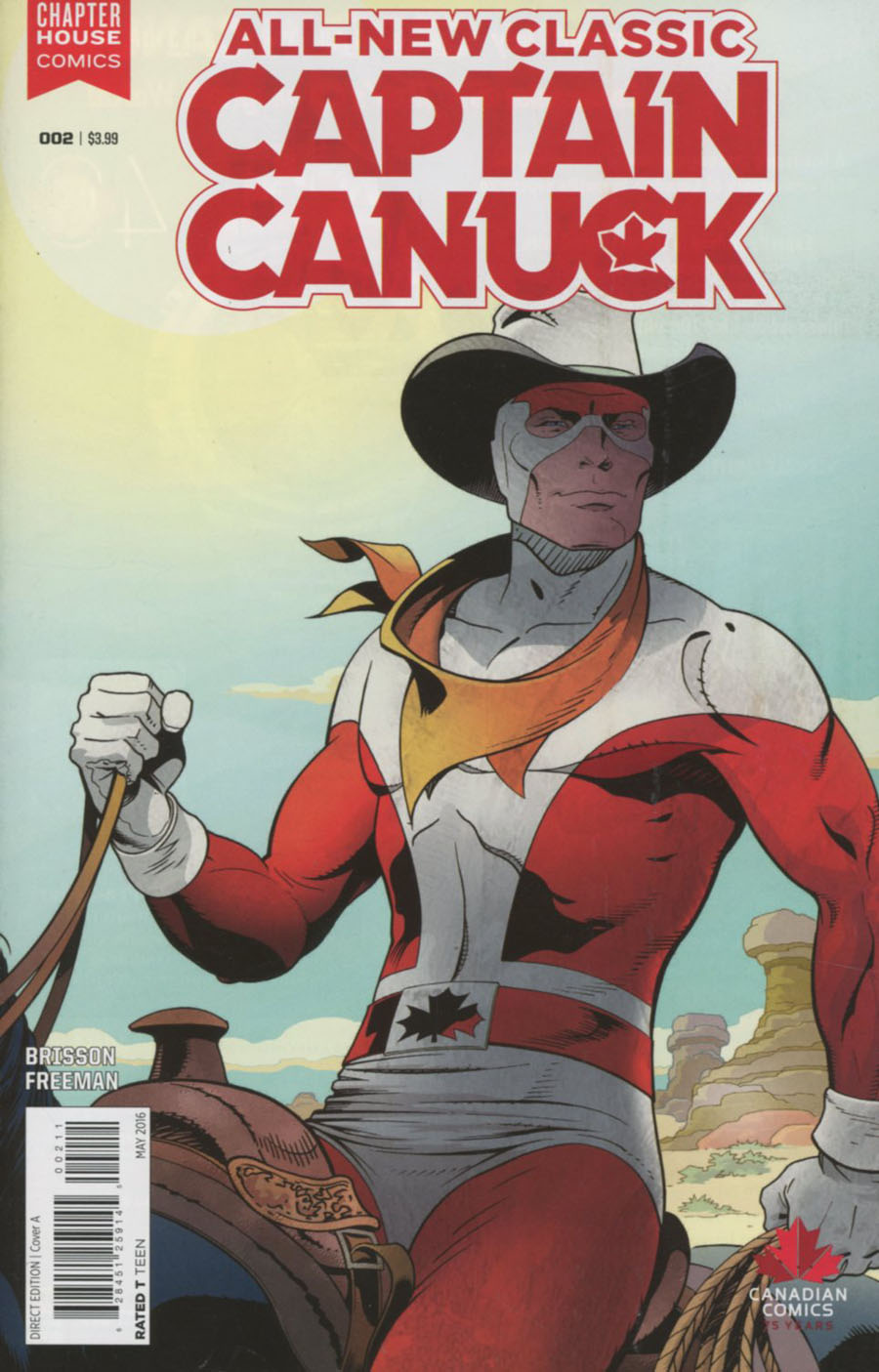 All-New Classic Captain Canuck #2 Cover A Regular George Freeman Cover