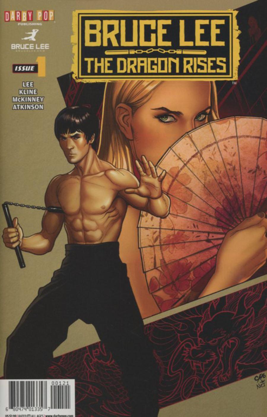 Bruce Lee Dragon Rises #1 Cover B Frank Cho