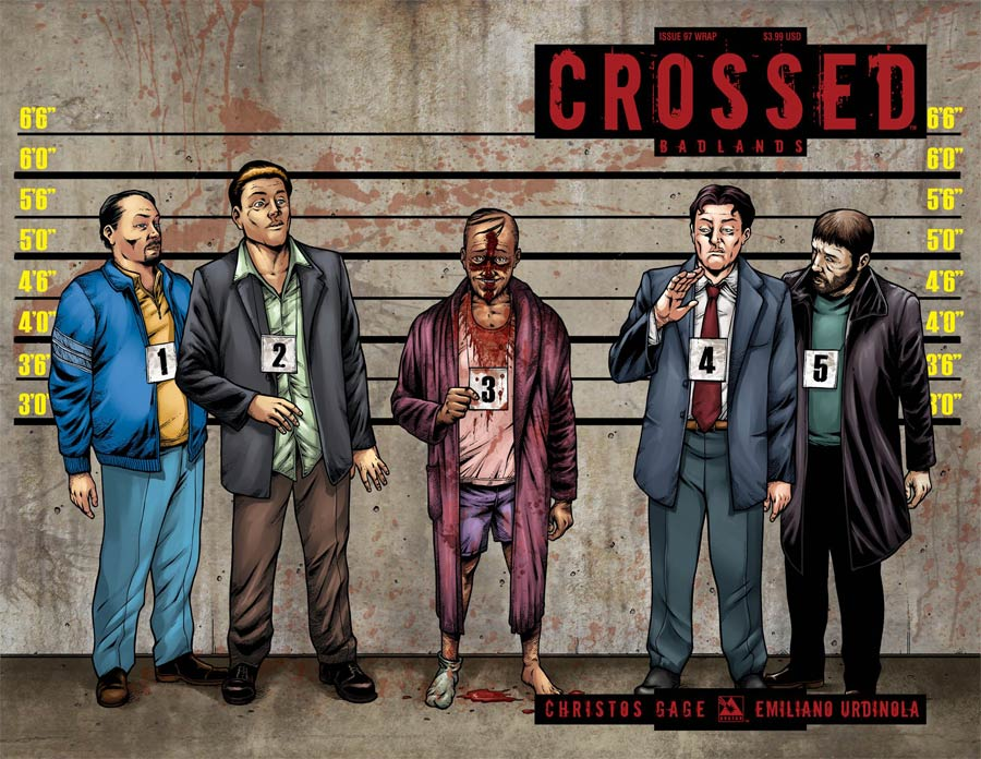 Crossed Badlands #97 Cover C Wraparound Cover