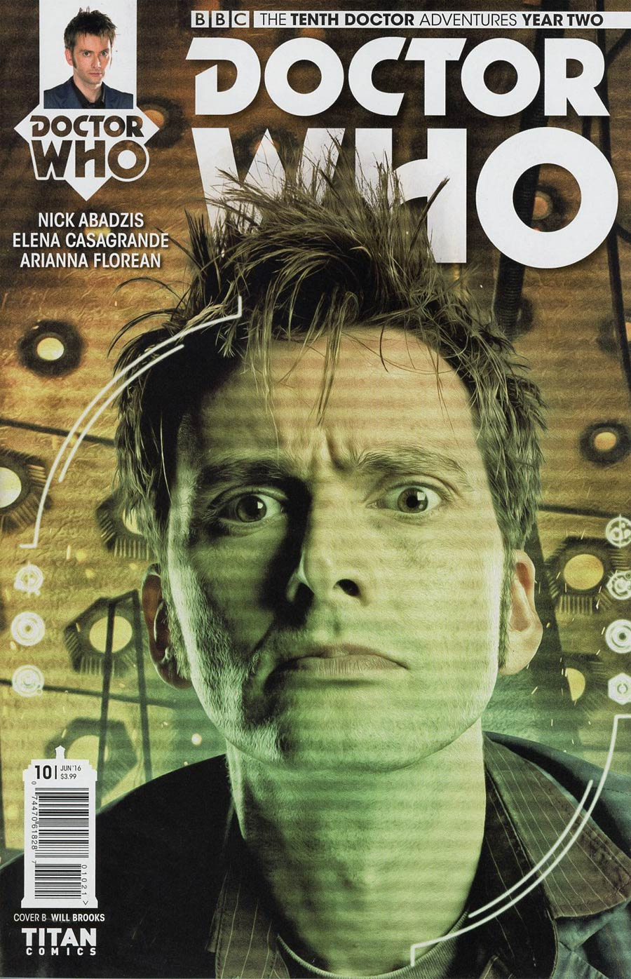 Doctor Who 10th Doctor Year Two #10 Cover B Variant Photo Subscription Cover