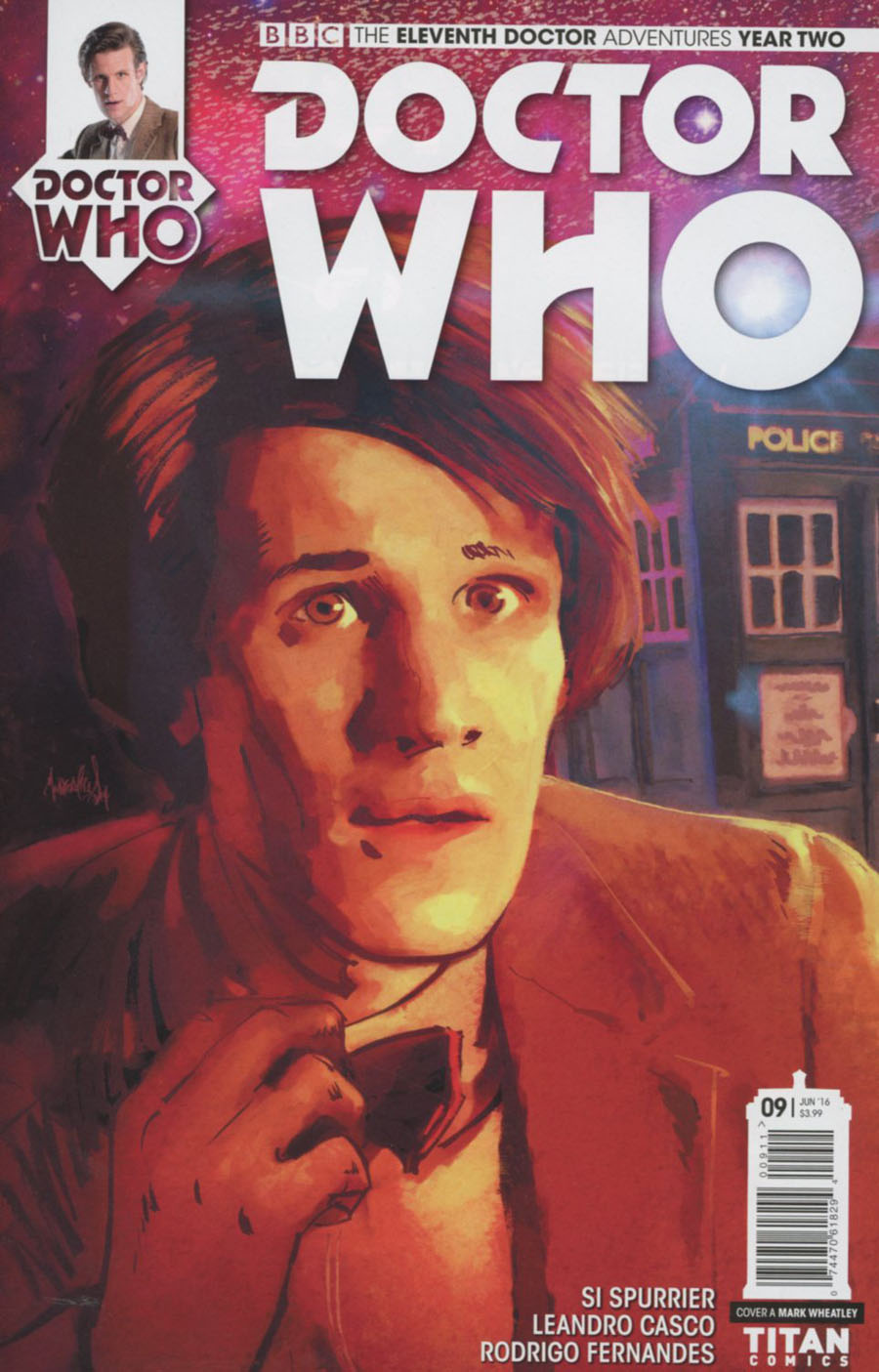 Doctor Who 11th Doctor Year Two #9 Cover A Regular Mark Wheatley Cover