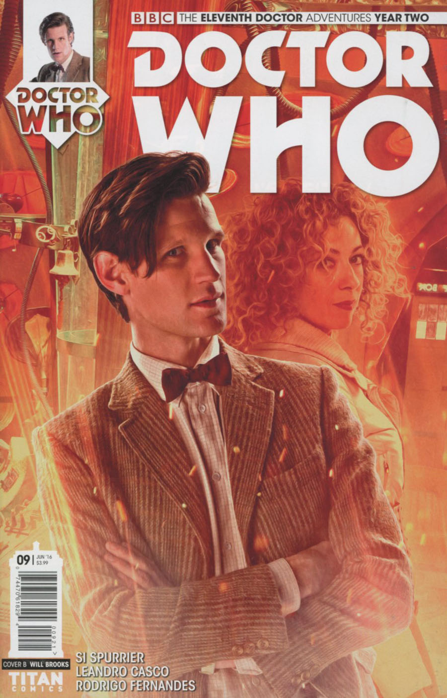 Doctor Who 11th Doctor Year Two #9 Cover B Variant Photo Subscription Cover