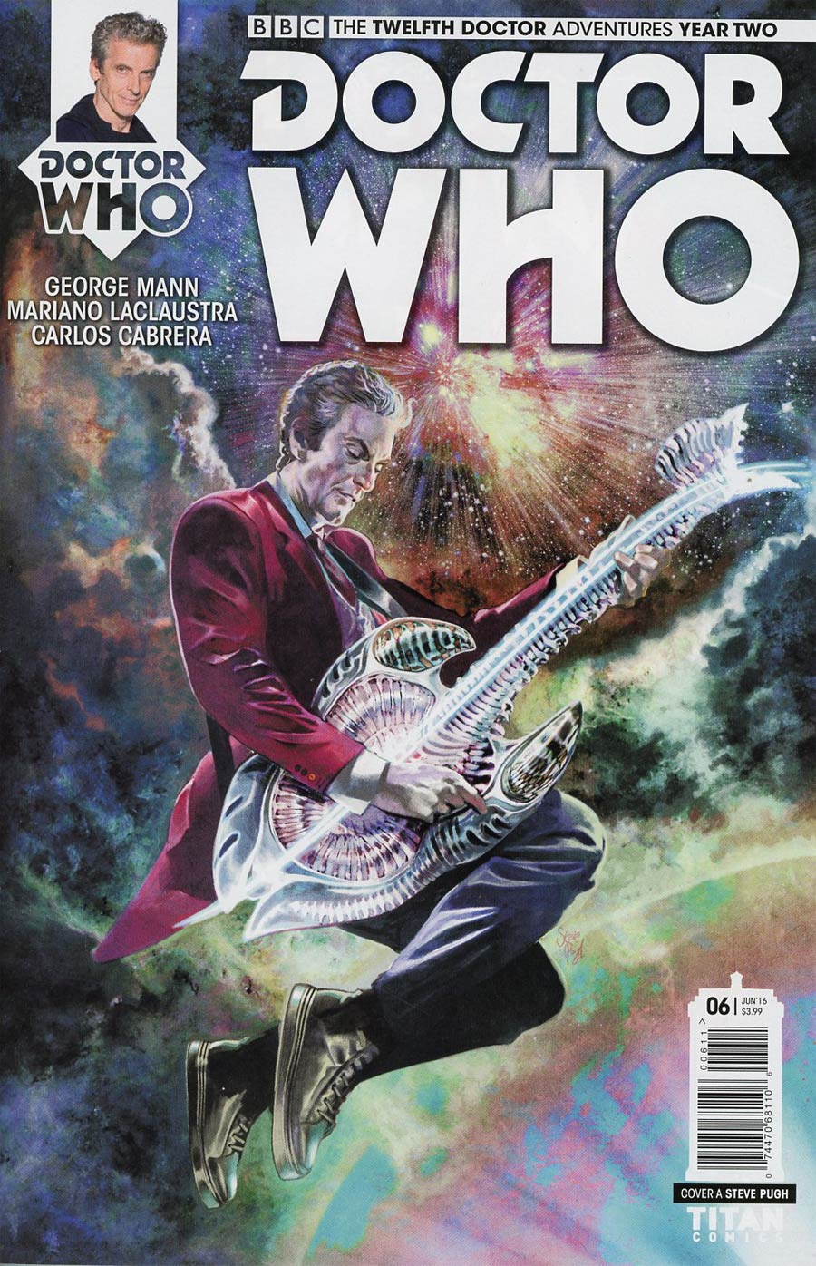 Doctor Who 12th Doctor Year Two #6 Cover A Regular Steve Pugh Cover