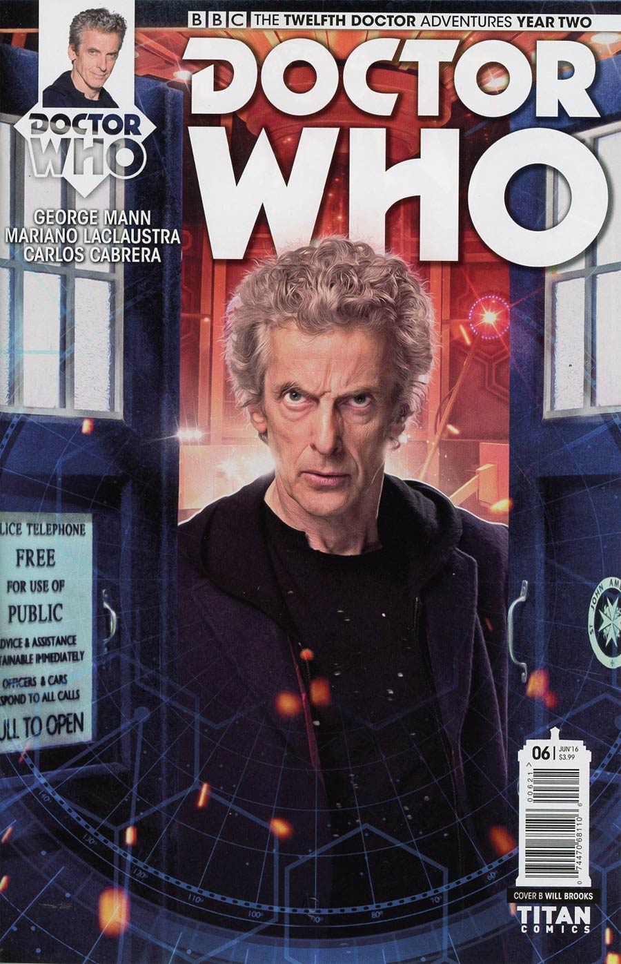 Doctor Who 12th Doctor Year Two #6 Cover B Variant Photo Subscription Cover