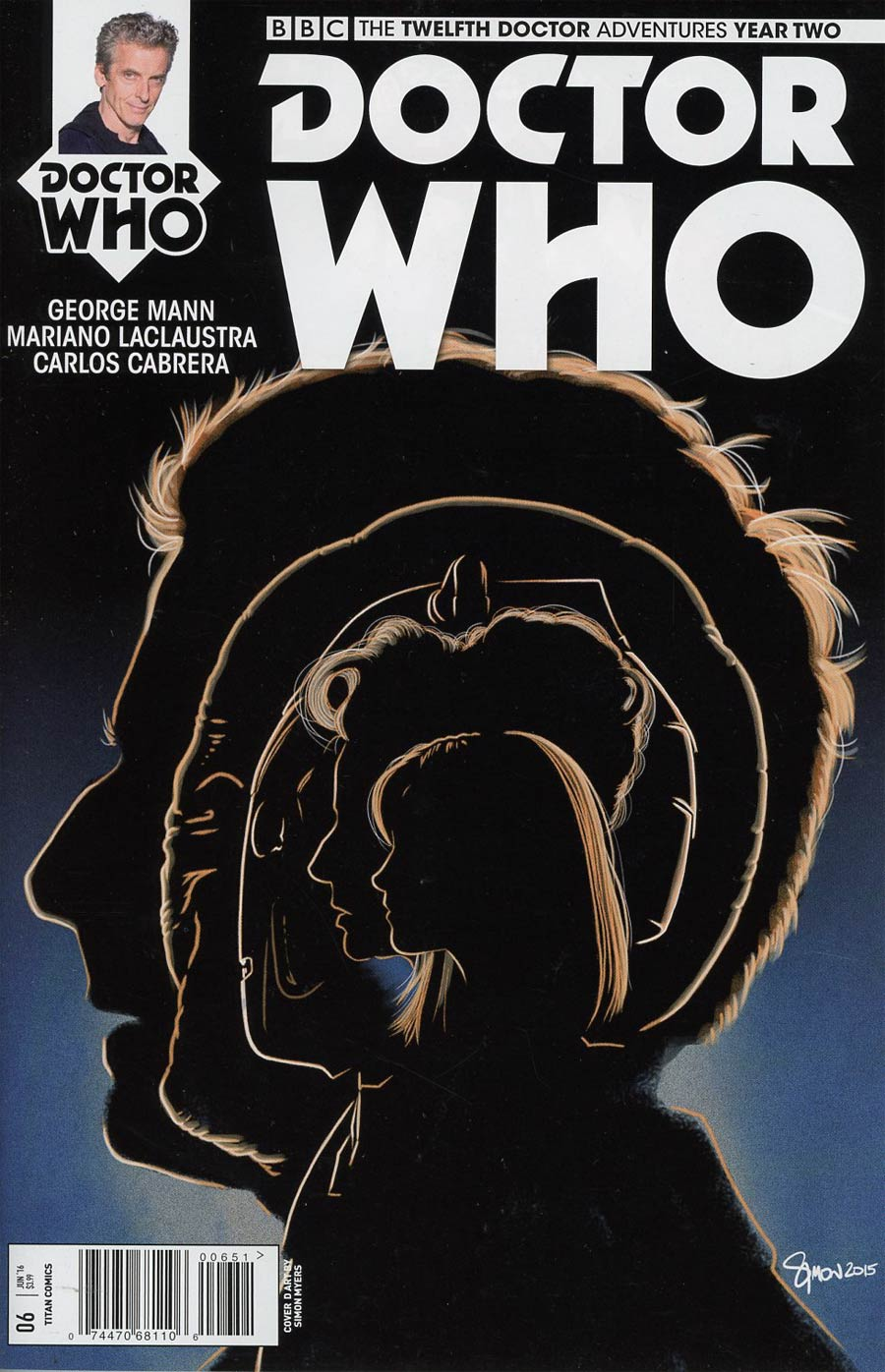 Doctor Who 12th Doctor Year Two #6 Cover E Variant Simon Myers Album Cover
