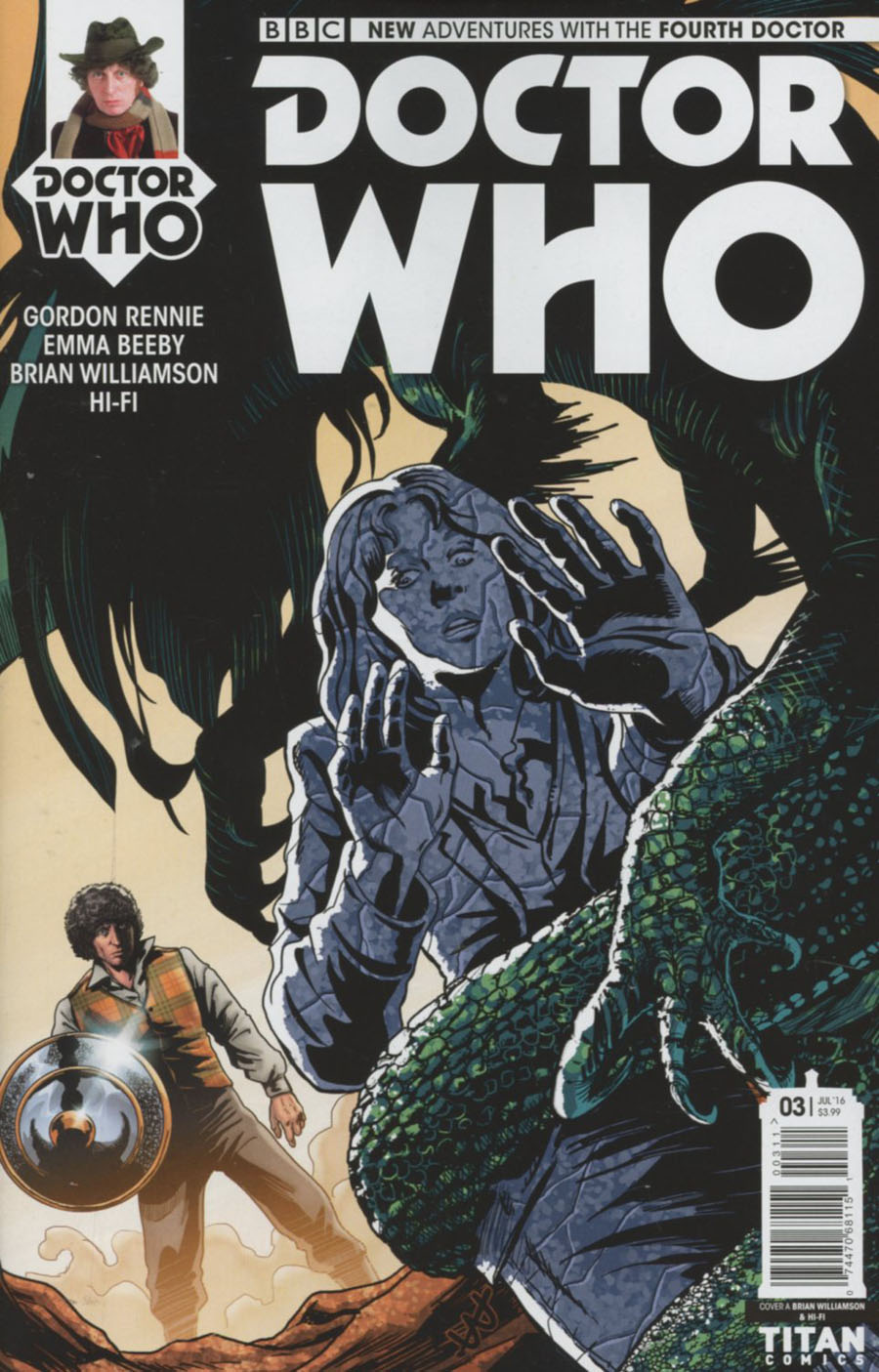 Doctor Who 4th Doctor #3 Cover A Regular Brian Williamson Cover