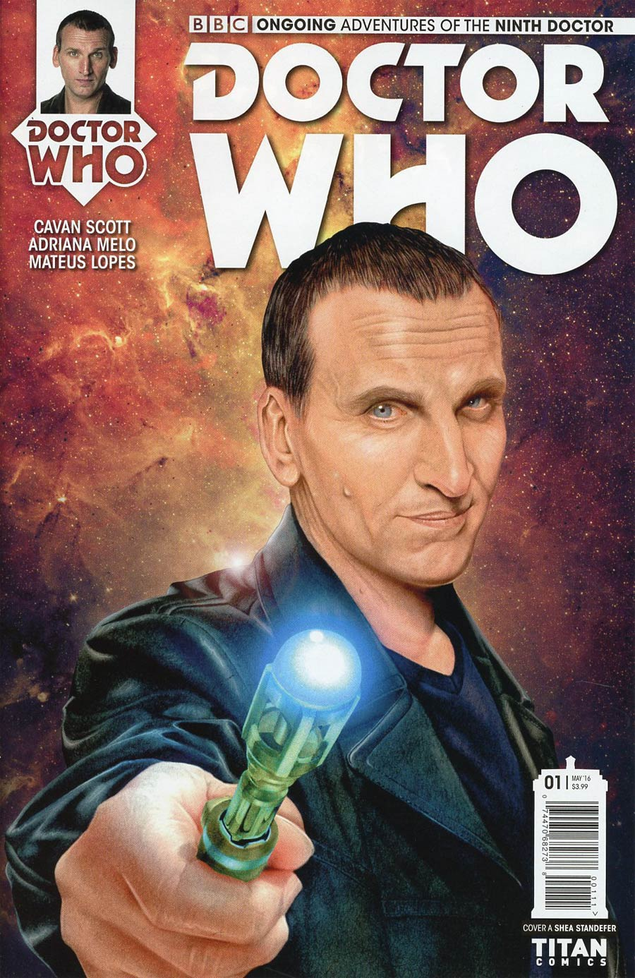 Doctor Who 9th Doctor Vol 2 #1 Cover A Regular Shea Standefer Cover