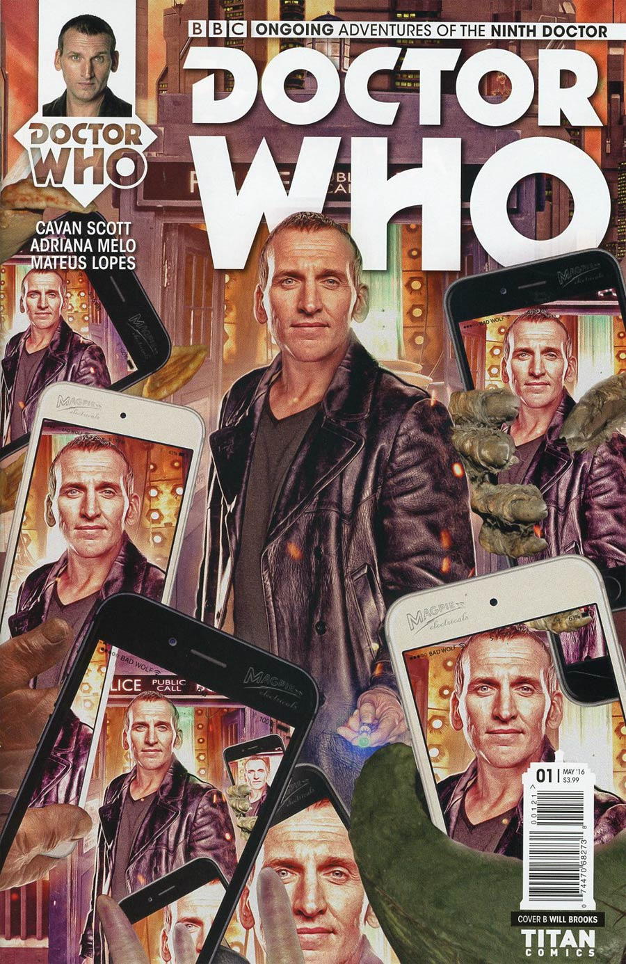 Doctor Who 9th Doctor Vol 2 #1 Cover B Variant Photo Subscription Cover
