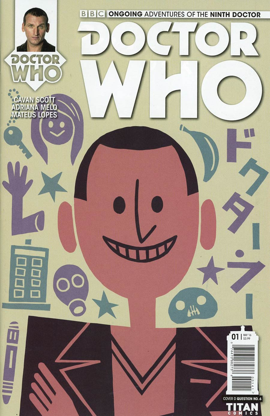 Doctor Who 9th Doctor Vol 2 #1 Cover D Variant Question 6 Cover