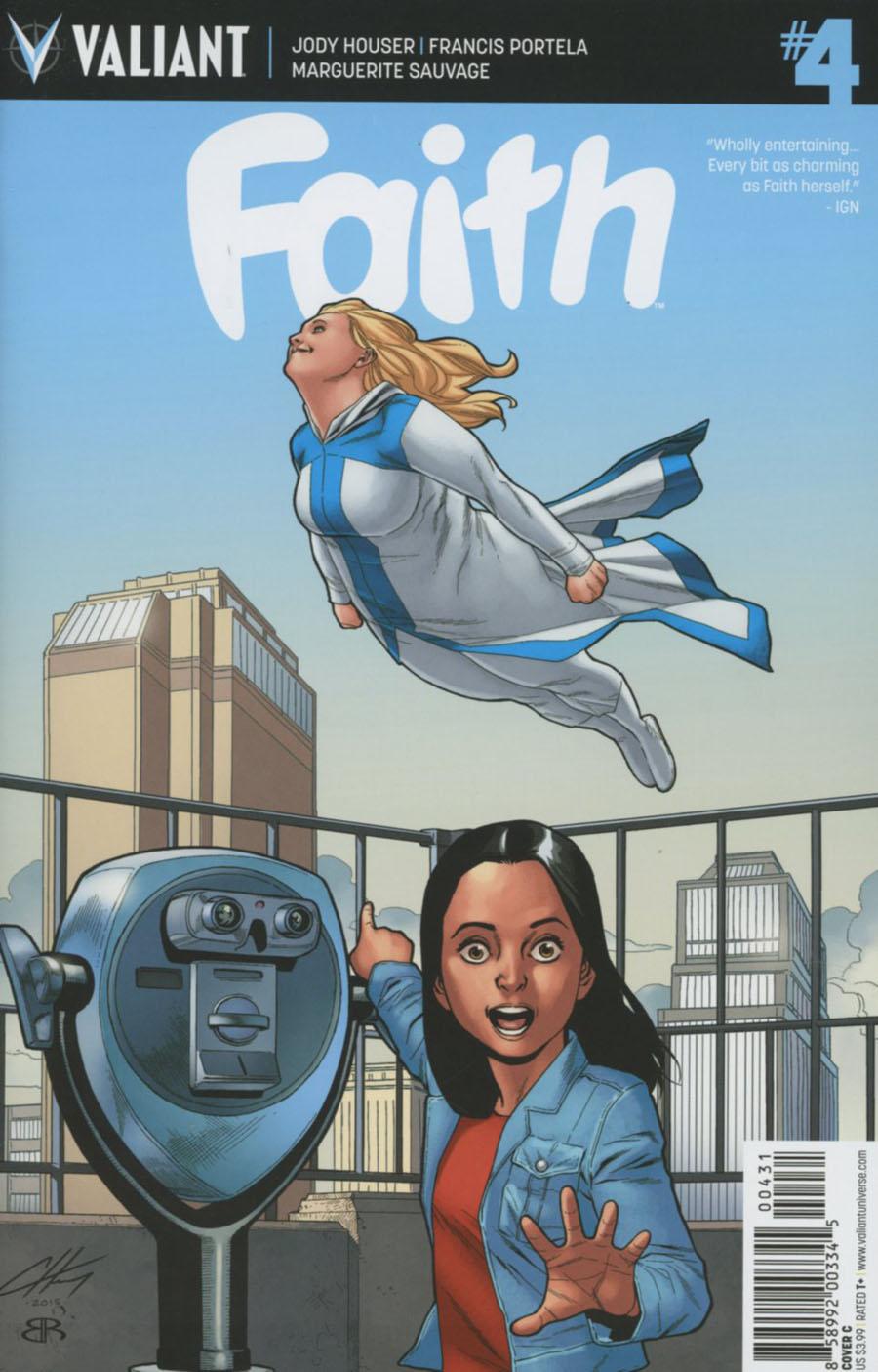 Faith (Valiant Entertainment) #4 Cover C Variant Clayton Henry Cover