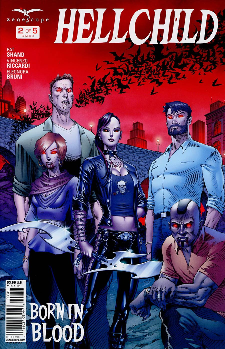 Grimm Fairy Tales Presents Hellchild #2 Cover D Jason Metcalf