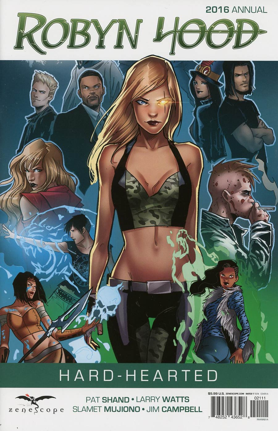 Grimm Fairy Tales Presents Robyn Hood Vol 2 Annual #1 Cover A Roberta Ingranata