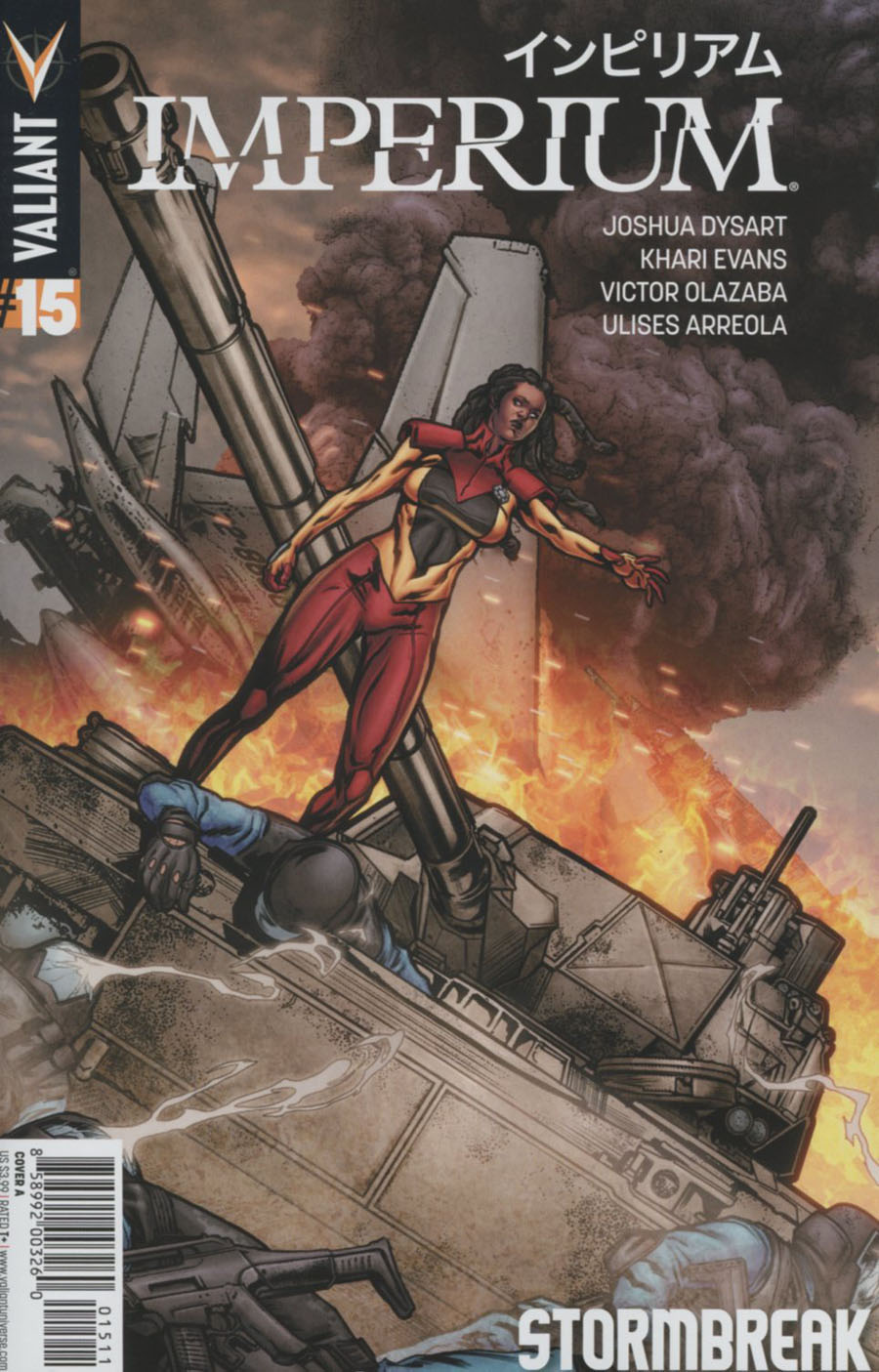 Imperium #15 Cover A Regular Khari Evans Cover