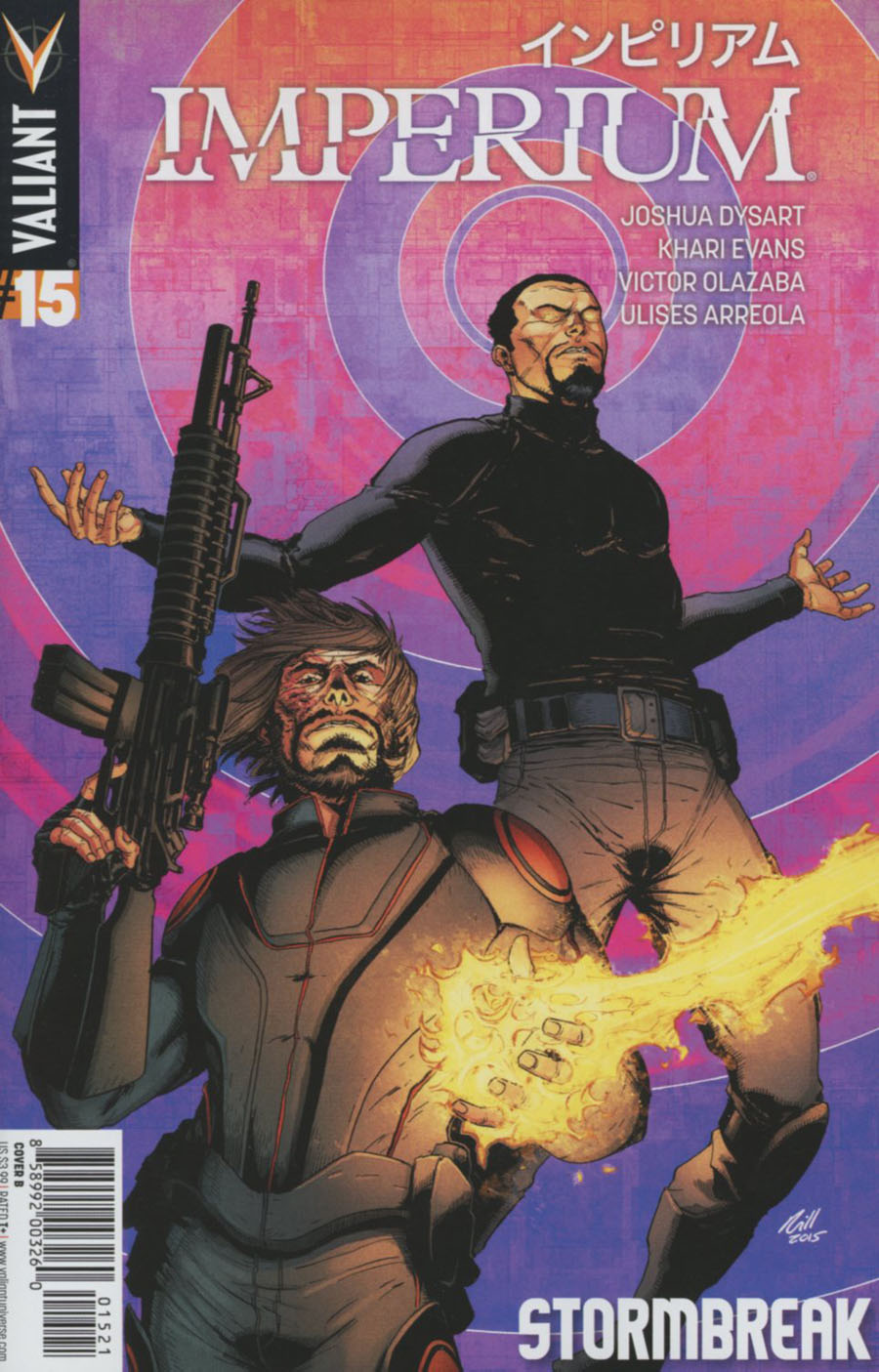 Imperium #15 Cover B Variant Robert Gill Cover