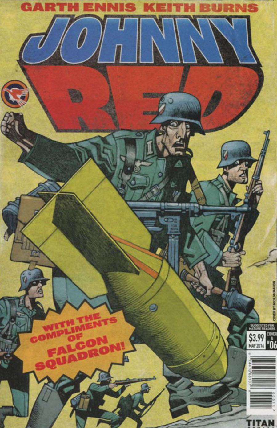 Johnny Red #6 Cover A Regular Mick McMahon Cover