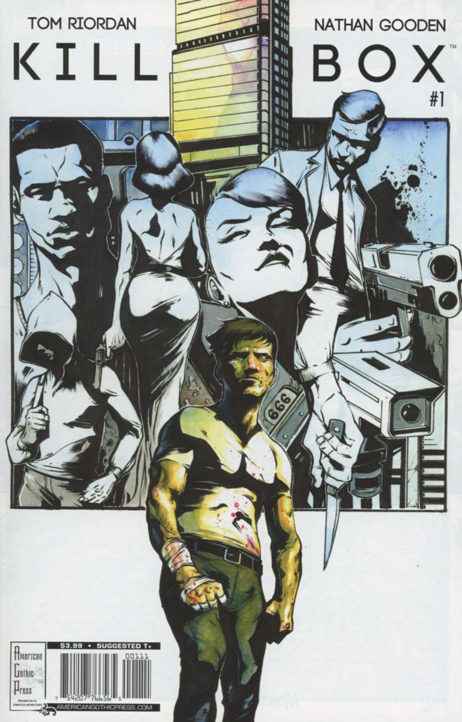 Killbox #1 Cover A Regular Nathan Gooden Cover