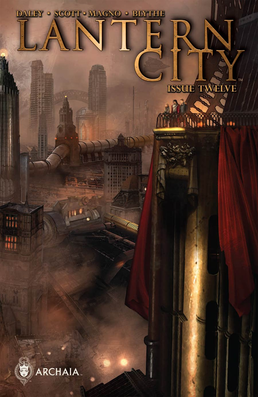 Lantern City #12 Cover A Regular Benjamin Carre Cover