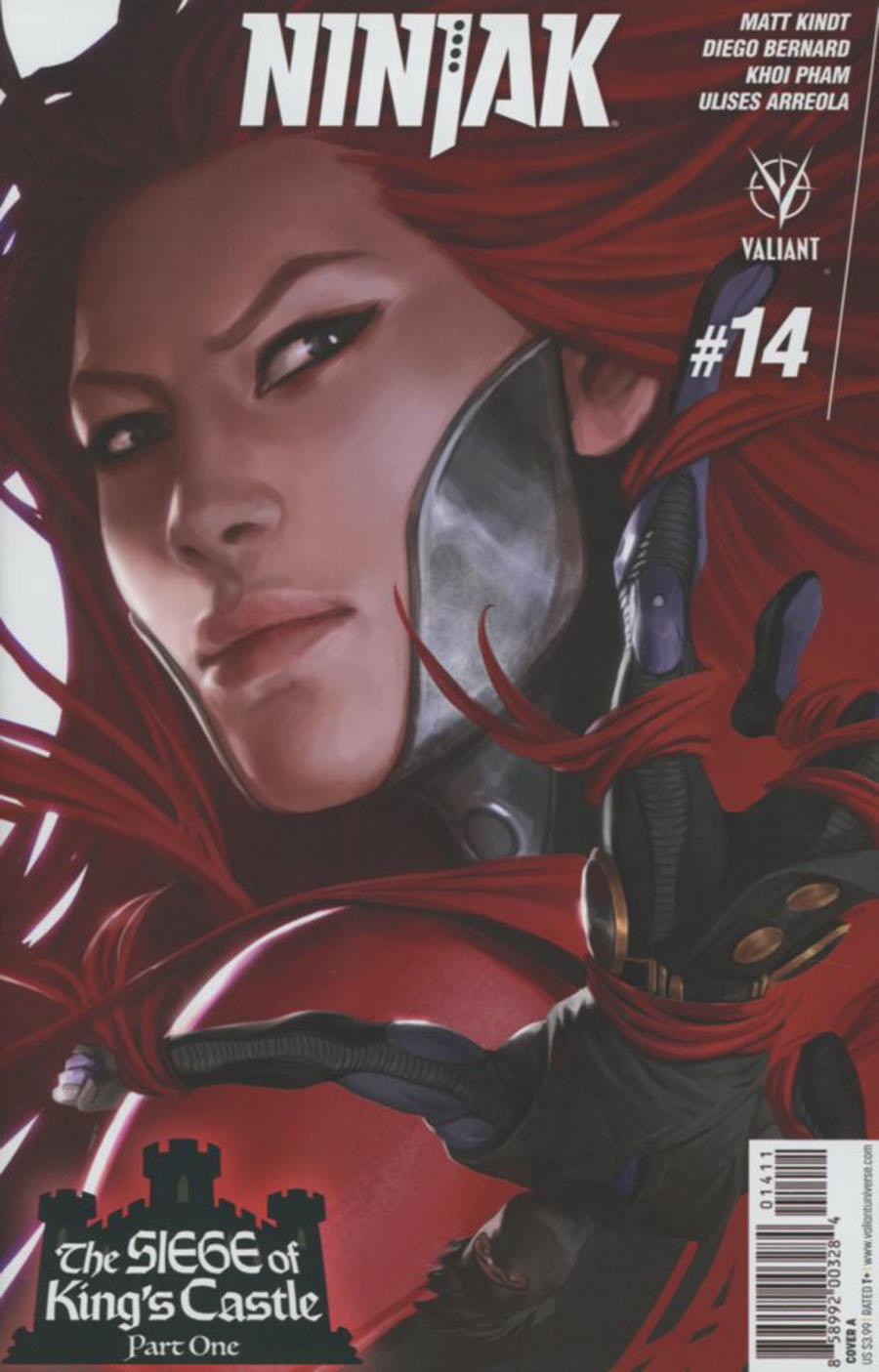 Ninjak Vol 3 #14 Cover A Regular Jelena Kevic-Djurdjevic Cover