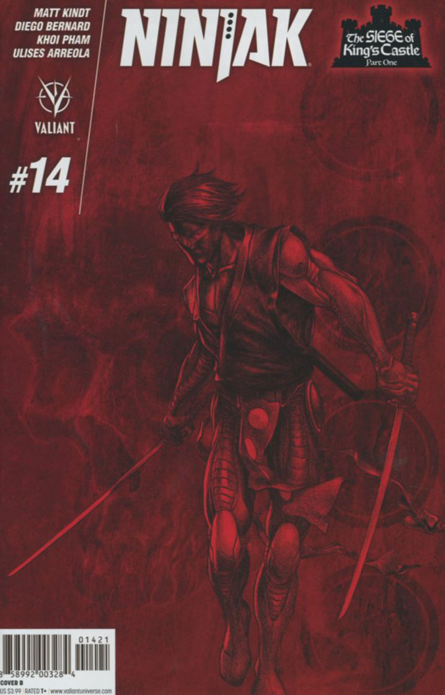 Ninjak Vol 3 #14 Cover B Variant Mike Choi Cover