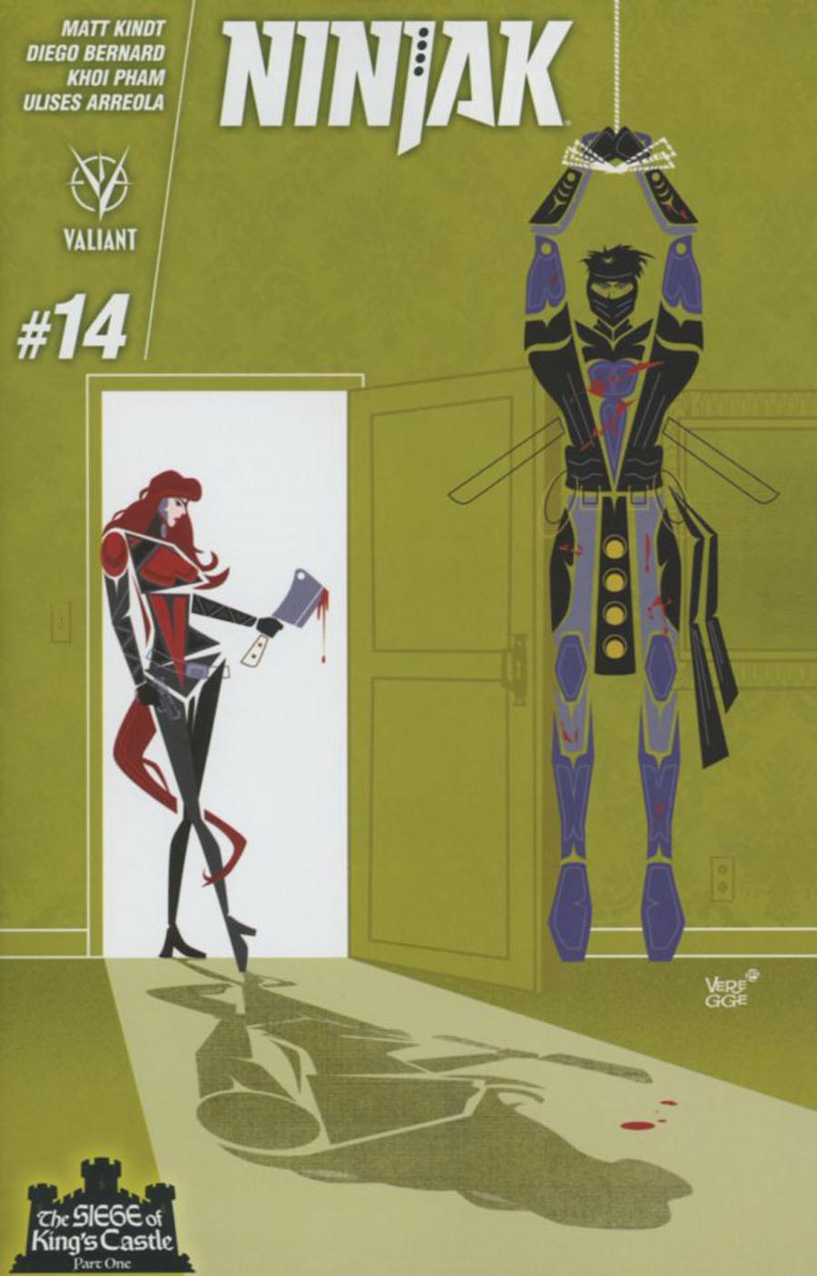 Ninjak Vol 3 #14 Cover C Variant Jeffrey Veregge Cover