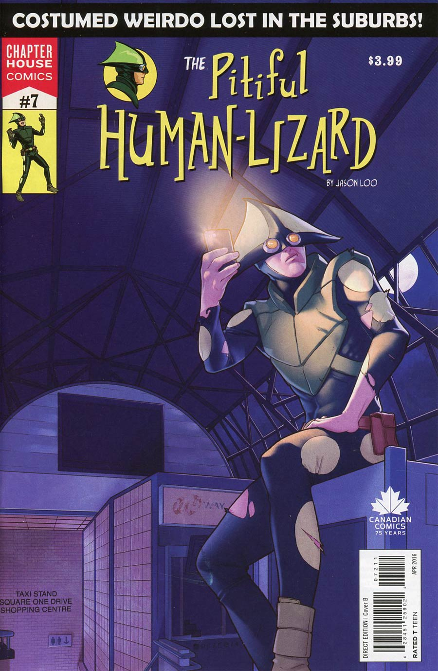 Pitiful Human-Lizard #7 Cover B Variant Jamal Campbell Cover