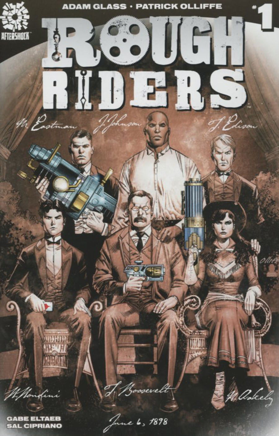 Rough Riders #1 Cover A 1st Ptg Regular Pat Olliffe Cover