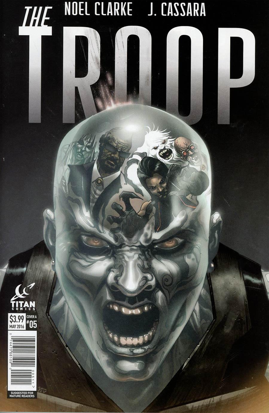 Troop #5 Cover A Regular Joshua Cassara Cover
