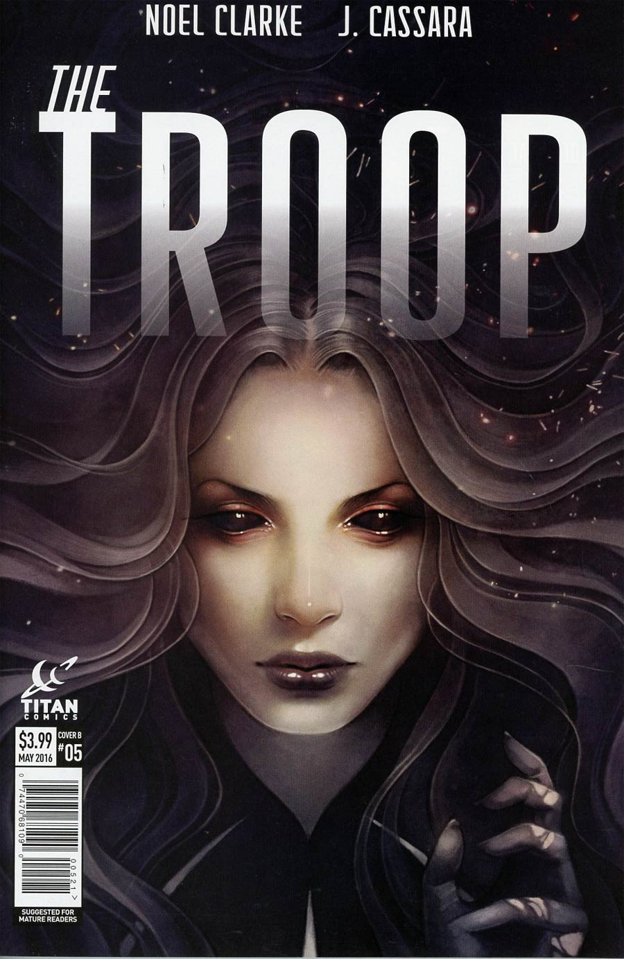 Troop #5 Cover B Variant Anna Dittmann Subscription Cover