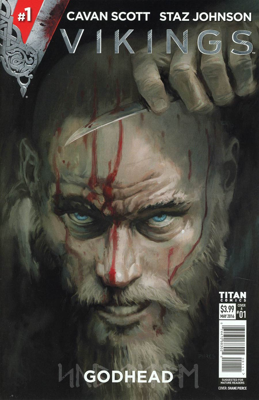 Vikings #1 Cover A 1st Ptg Regular Shane Pierce Cover