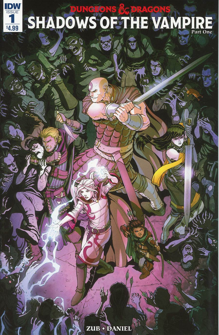 Dungeons & Dragons Vol 2 #1 Cover A Regular Max Dunbar Cover