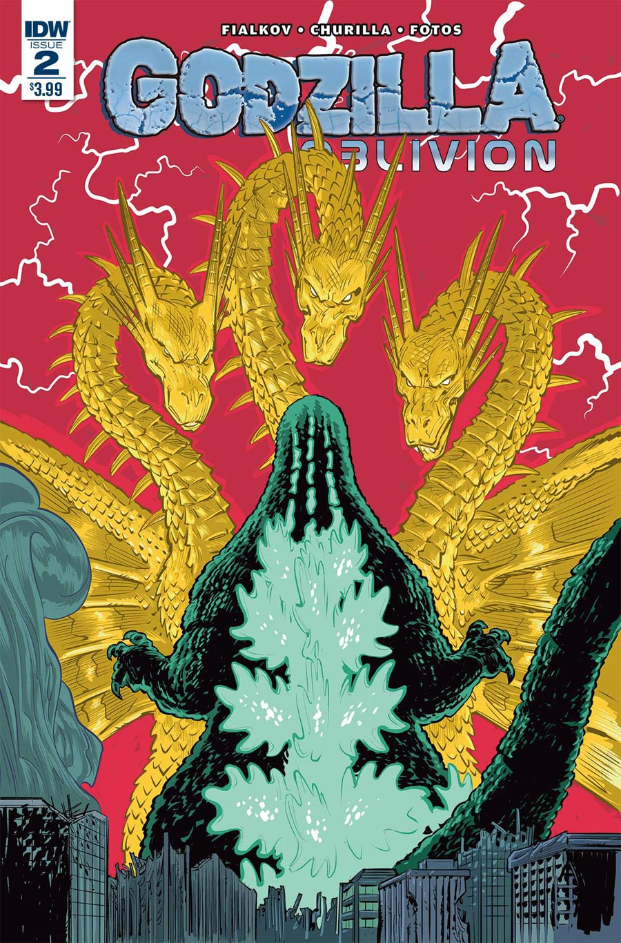 Godzilla Oblivion #2 Cover A Regular Brian Churilla Cover
