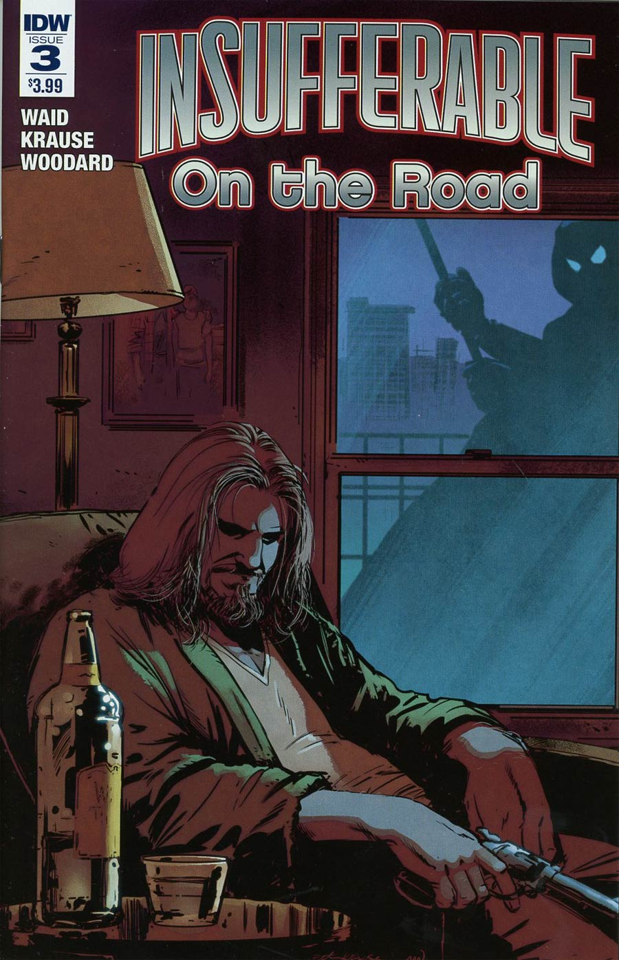 Insufferable On The Road #3 Cover A Regular Peter Krause Cover